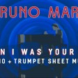 Bruno Mars - When I Was Your Man Official Video