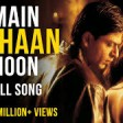 Main Yahaan Hoon - Full SongVeer-ZaaraShah Rukh KhanPreity ZintaUdit Narayan