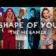 SHAPE OF YOU The Megamix ft. Selena Gomez, TØP, Ariana Grande, Justin Bieber, and more