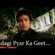Zindagi Pyar Ka Geet Hai Souten Padmini Kolhapure Rajesh Khanna Old Hindi Songs Kishor