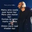 Shukriya Lyrics Sufna B.praak jaani Ammy Virk Album Shukriya