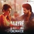 Daayre Lyric Video - Dilwale Shah Rukh Khan Kajol Varun Dhawan Kriti Sanon