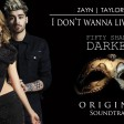 ZAYN, Taylor Swift - I Dont Wanna Live Forever (Fifty Shades Darker)